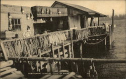 Lobsterman's Shanties, Coast of Maine