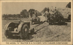 "The Model ""U"" Tractor is a Favorite with Farmers Everywhere"