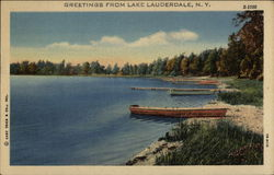 Greetings from Lake Lauderdale, NY