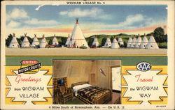 Greetings from Wigwam Village