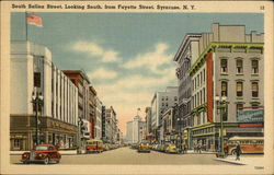 South Salina Street, Looking South from Fayette Street