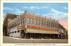 The Woolworth's Building, Erected 1936-37