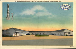 El Dorado Motor Court, U.S. 1, North City Limits