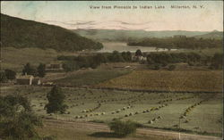 View from Pinnacle to Indian Lake Postcard