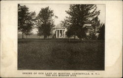Shrine of Our lady of Martyrs, The Old Mission Site Postcard