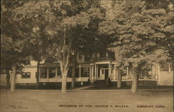 Residence of Hon. George P. McLean