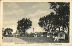 Wolf's Chimney Point Cabins, near Lake Champlain
