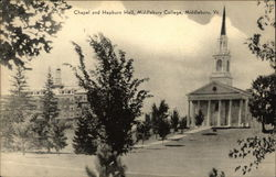 Chapel and Hepburn Hall, Middlebury College