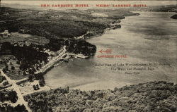 The Lakeside Hotel Postcard