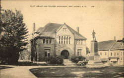 Clay Library and Soldiers Monument