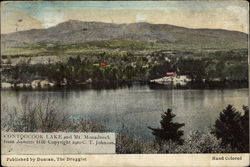Contoocook Lake and Mount Monadnock