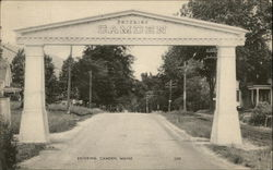 Welcome Arch Postcard