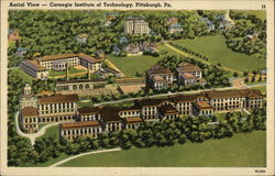 Aerial View - Carnegie Institute of Technology