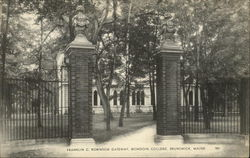 Franklin C Robinson Gateway, Bowdoin College