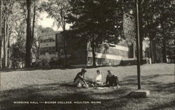 Wording Hall at Ricker College