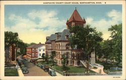 Bird's Eye View of Hampshire County Court House