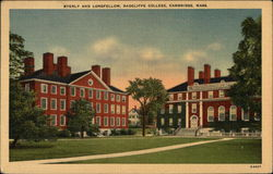 Radcliffe College - Byerly and Longfellow