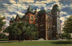Howard Payne Administration Building Postcard