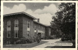 Leonard Hall at State Teachers College