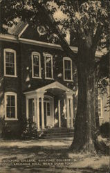 Guilford College, Archdale Hall, Men's Dormitory