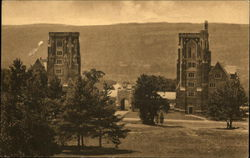 Cornell University - The Towers and Cloister
