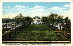 Lawn and Rotunda, University of Virginia