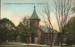 Lee Chapel on Washington and Lee Campus