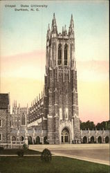 Chapel, Durham University Postcard