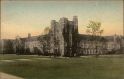 The Union Building, Duke University Postcard