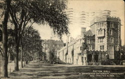Patton Hall, A Princeton University Dormitory - Erected in 1906