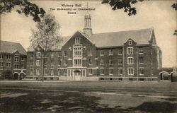 Whitney Hall, The Univesity of Connecticut