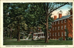 Venable Hall, Hampden Sydney College