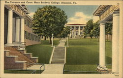 Mary Baldwin College - The Terraces and Court