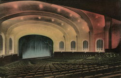 Auditorium, Looking toward Stage, Indiana University