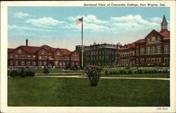 Sectional View of Concordia College