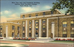 New Fine Arts & Commerce Building, Indiana State Teachers College