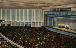Purdue University - Hall of Music, Interior