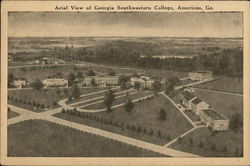 Arial View of Georgia Southwestern College