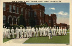 A Company Drill, Riverside Military Academy