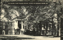 Old College, Oldest College Building, University of Delaware