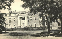 Warner Hall, Women's College, University of Delaware