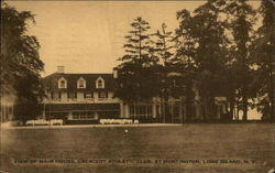 View of Main House, Crescent Athletic Club on Long Island