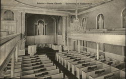 Interior - Storrs Church, University of Connecticut