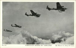 Formation - Boeing B17 Airplanes
