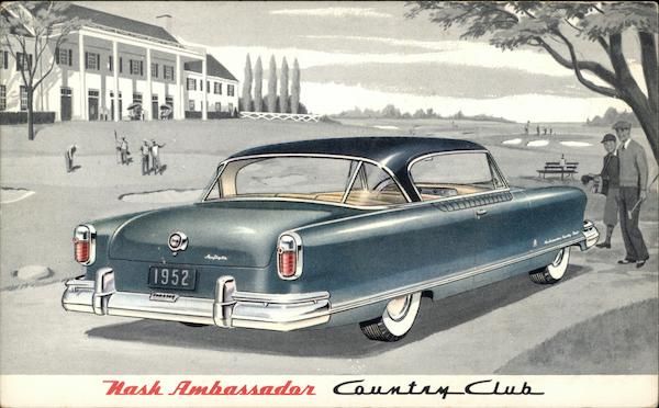 1952 Nash Ambassador Country Club Cars
