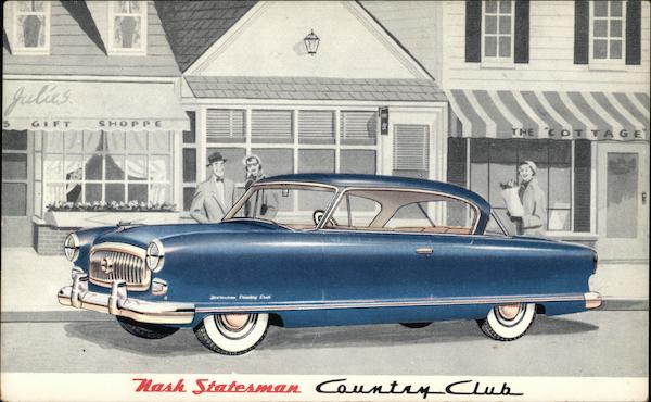 Nash Statesman Country Club Cars
