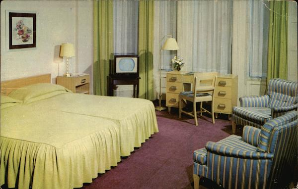 The Bellevue-Stratford Hotel Philadelphia Pennsylvania
