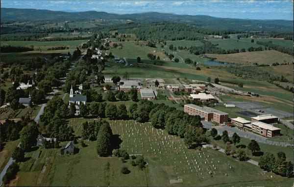 Aerial View of Vermont Technical College Randolph Center