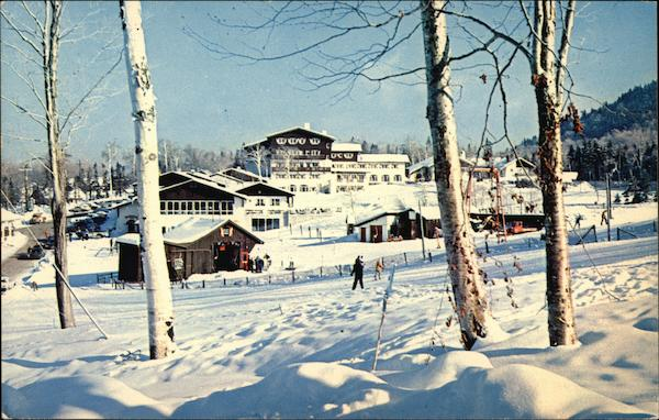 Snow Clad Mittersill Alpine Inn and Chalets Franconia New Hampshire