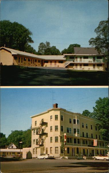 Blethen House Inn and Motel Dover-Foxcroft Maine Frank & Paul Knaut